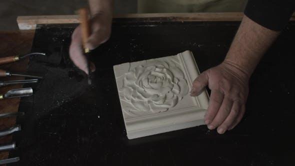 Thumbnail for Sculptor Creating Art Decor