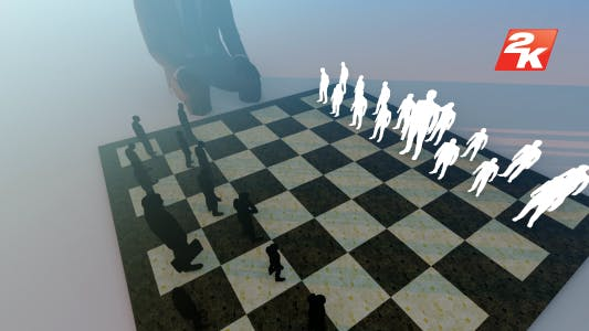 Thumbnail for Businessmen playing chess