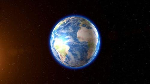 Seamless Rotating Earth