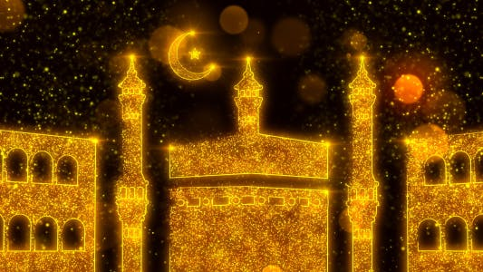 Thumbnail for Mecca Mosque - Ramadan Background
