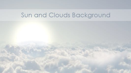 Thumbnail for Sun And Clouds Background