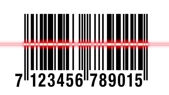 Thumbnail for Scanning EAN Barcode Isolated