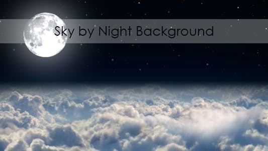 Thumbnail for Sky By Night Background
