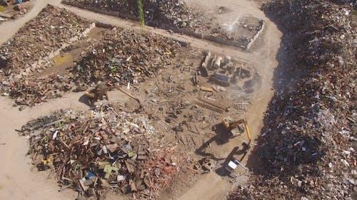 Dump with Scrap Metal