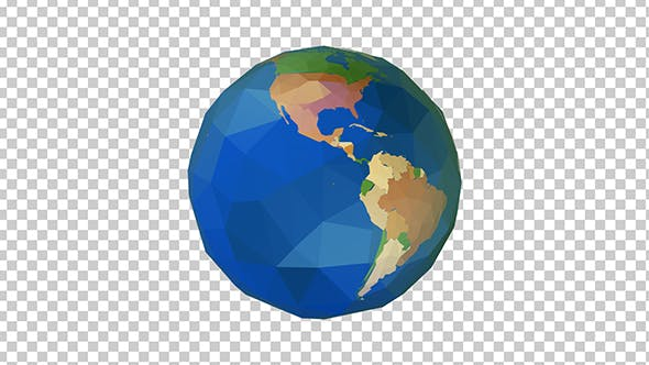 Thumbnail for Low Poly Globe