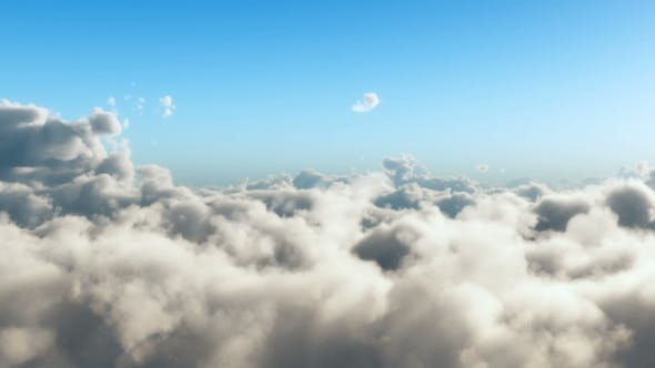 Thumbnail for Slow Flight Above Cloudscape
