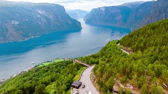 Thumbnail for Stegastein Lookout Beautiful Nature Norway.