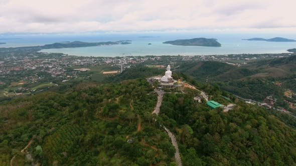 Thumbnail for Fly To Big Statue of Buddha in Phuket, Thailand