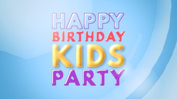 Kids Opener - Happy Kids