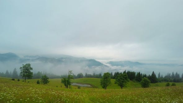 Thumbnail for Misty Morning in Mountains