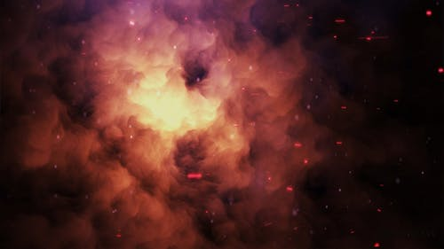 Spark and Smoke   Particle Background
