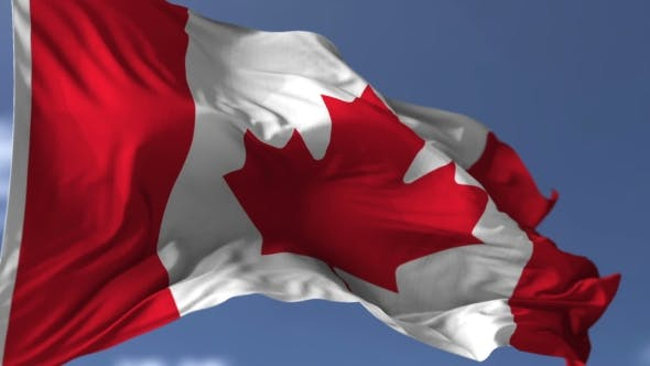 Thumbnail for Canadian Blowing Flag