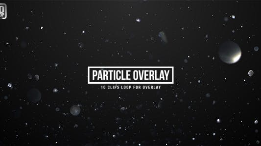 Thumbnail for Particle Glittering Overlays