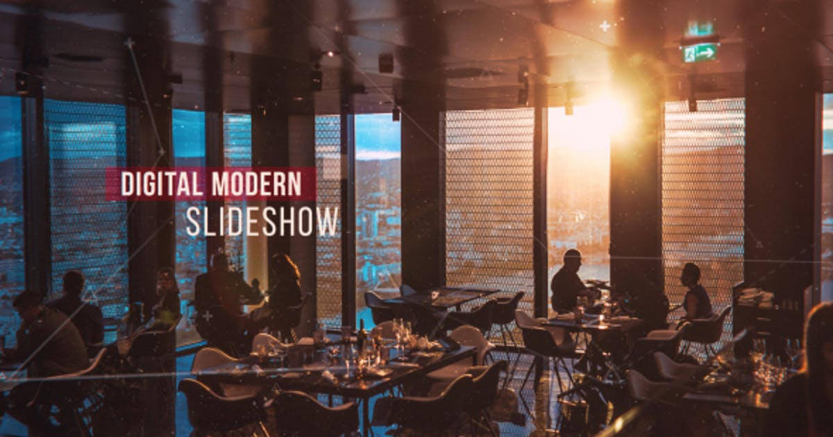 Digital Modern Slideshow