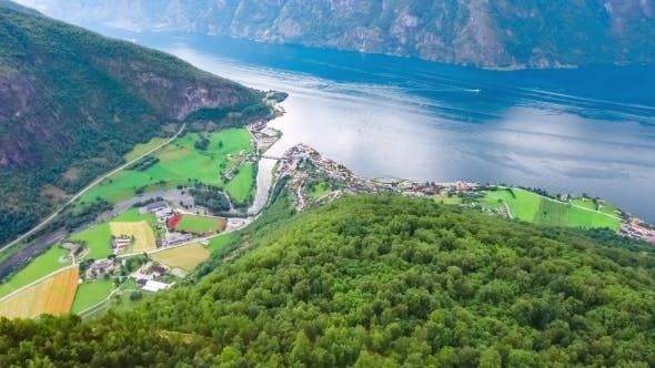 Cover Image for Stegastein Lookout Beautiful Nature Norway.