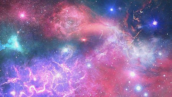 Thumbnail for Travel Through the Stars in Nebula