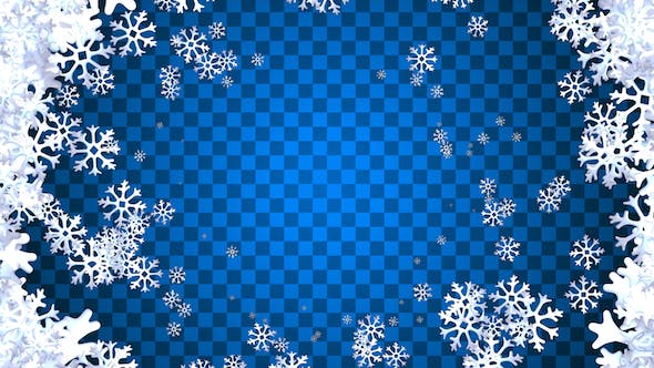 Thumbnail for Winter Snowflakes Transitions