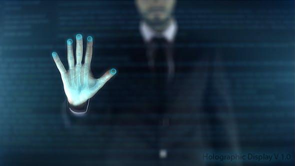 Thumbnail for Affichage holographique - ère numérique