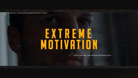Extreme Motivation