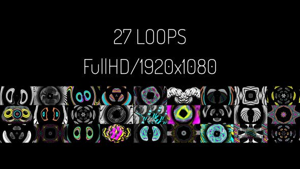 Thumbnail for VJ Loops Vol.3