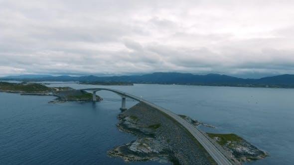 Thumbnail for Atlantic Ocean Road Aerial View