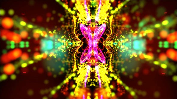 Thumbnail for Abstract Looped Colorful Background