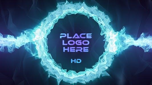 Thumbnail for Blue Crystal Logo Ring