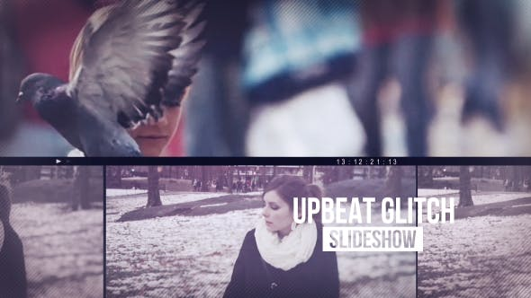 Thumbnail for Upbeat Glitch Slideshow