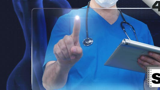 Thumbnail for Gynecologist Looking Screen