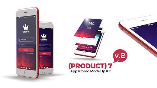 (Product) 7 App Promo Mock-Up Kit v.3