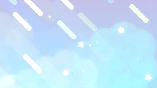 Cartoon Pastel Night Sky