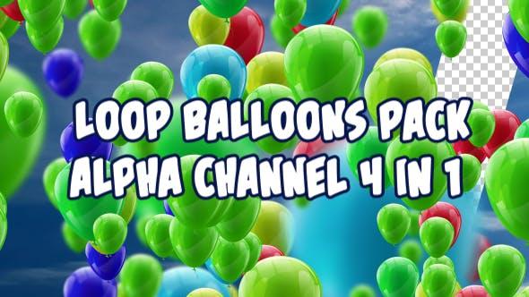 Balloons Pack V3 4 in 1