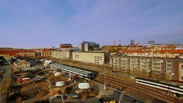 Train Station in Aarhus