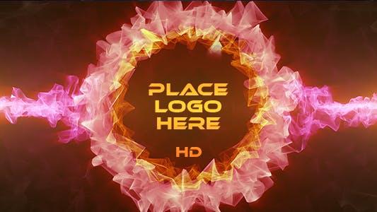 Thumbnail for Red Crystal Logo Circle