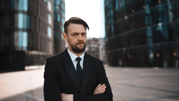 Thumbnail for Beard Businessman Disgusted with You