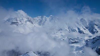 Swiss Alps Landscape Time Lapse