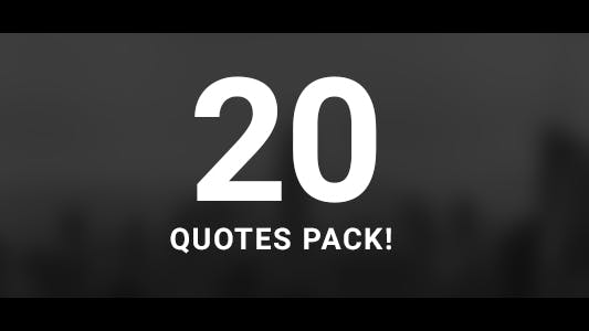 Thumbnail for 20 Quotes Pack