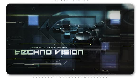 Cover Image for Techno Vision Parallax Slideshow