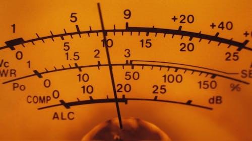 Analog Dial Signal Indicator