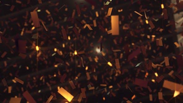 Thumbnail for Gold Confetti