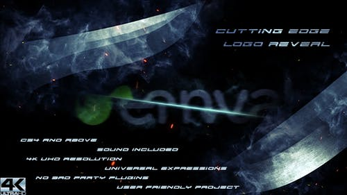 Cutting Edge Logo Reveal