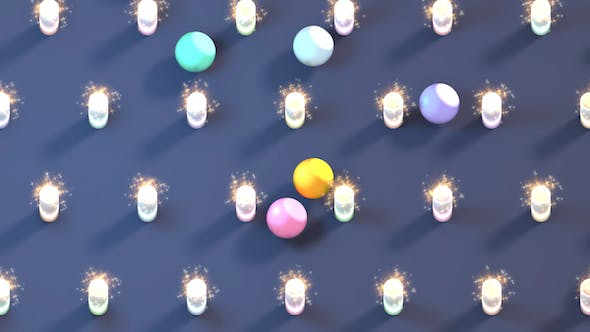 Thumbnail for Colorful Balls and Fireworks