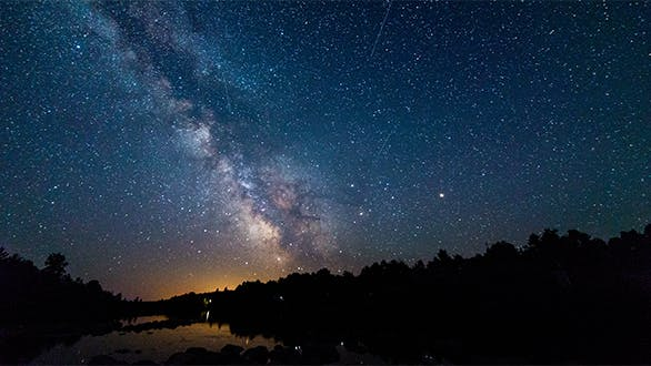 Thumbnail for The Milky Way as Seen from French River Provincial Park Ontario Canada