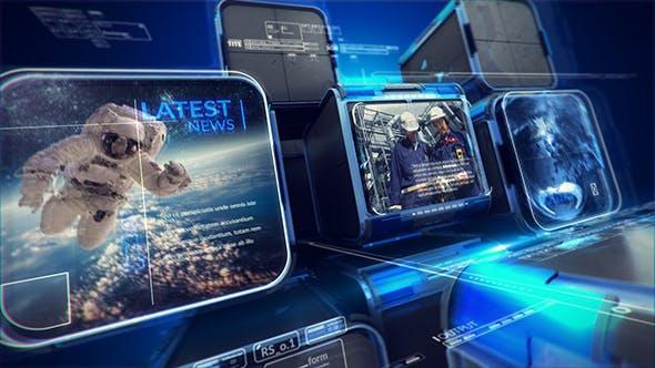Futuristic TV Broadcast Package