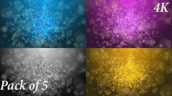 Strings Particles Loop Backgrounds Pack