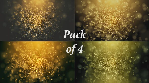 Thumbnail for Golden Bokehs and Particles Loop Backgrounds