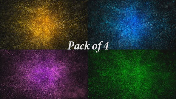 Particles Magical Dust Background Loop Pack
