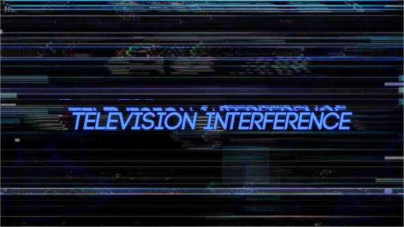 Thumbnail for Television Interference 11