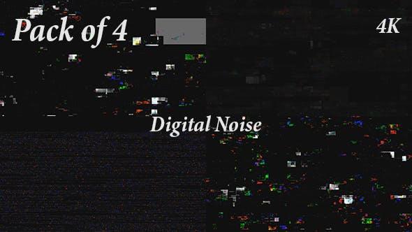 Thumbnail for Digital Error Noise Backgrounds Pack