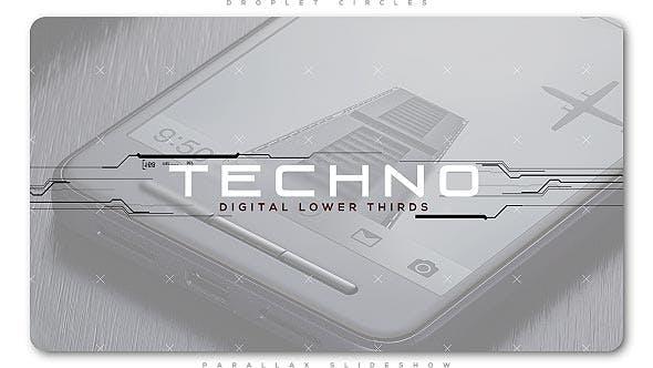 Thumbnail for Techno Digital Lower Thirds